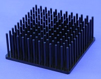 Cold Forged Round Pin Heat Sink