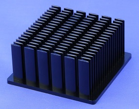 Elliptical Pin Heat Sink by Cold Forging