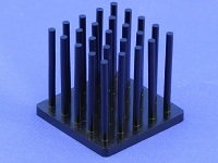 S801-2700-245 Precision Forged Round Pin Heat Sink