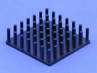 S801-3300-095 Precision Forged Round Pin Heat Sink
