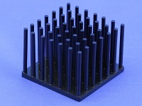 S801-3300-245 Precision Forged Round Pin Heat Sink