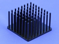 S801-4000-245 Precision Forged Round Pin Heat Sink