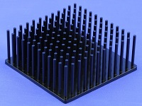 S801-6000-245 Cold Forged Round Pin Heat Sink