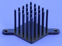 S802-2700-245 Round Pin Heat Sink with Push Pins