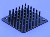 S802-4000-095 Round Pin Heat Sink with Push Pins