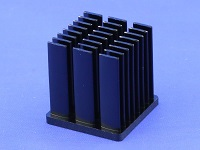S803-2700-145 Cold Forged Elliptical Pin Heat Sink