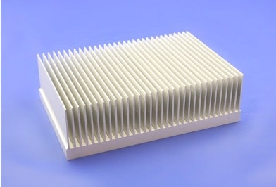 S818-150-45-200 Plate Fin Heat Sinks with High Aspect Ratios for High Airflow