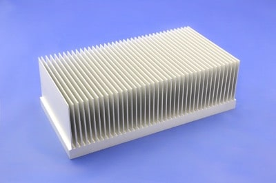 S818-190-61-100 Plate Fin Heat Sinks with High Aspect Ratios for High Airflow