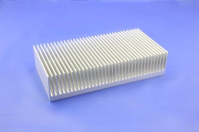 S818-200-45-100 Plate Fin Heat Sinks with High Aspect Ratios for High Airflow